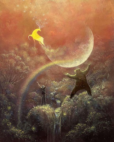 海至-月光下彩虹漫步