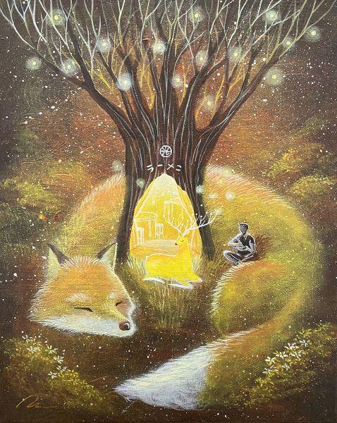 海至-光鹿與狐狸拉麵
