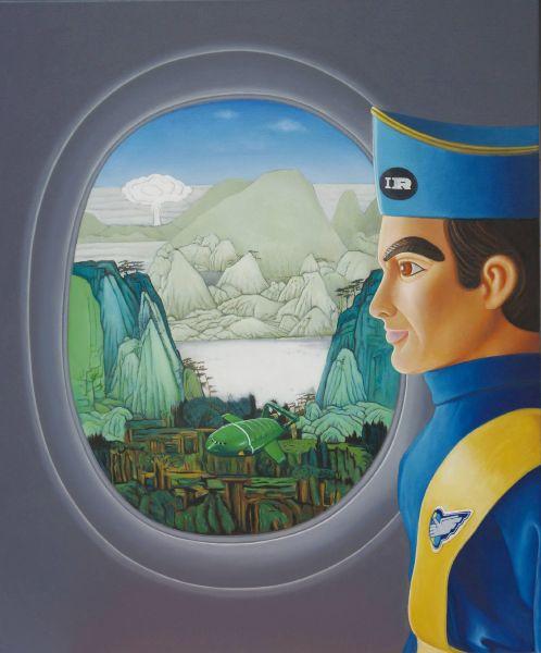 曹文瑞-有蕈狀雲的風景之旅