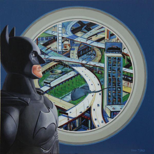 曹文瑞-蝙蝠俠的城市之旅
