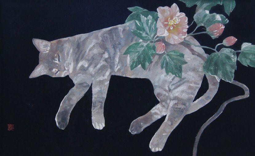 曾冠樺-貓與山茶花