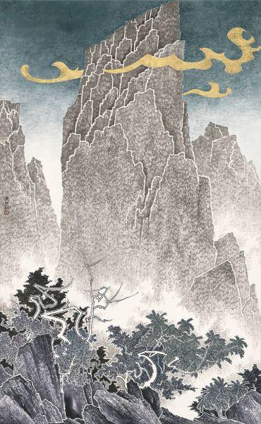 吳弘鈞-仙山系列-雲遊