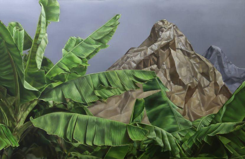 顏群-《變動風景 1》 Landscape Variation 1