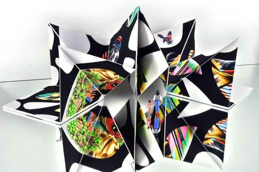 Peter D. Gerakaris-Ventana Origami Sculpture