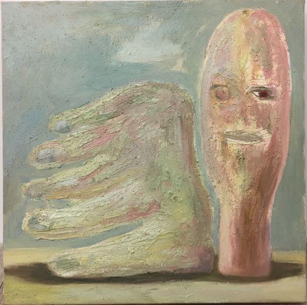 陳慶銘 -頭與手的靜物