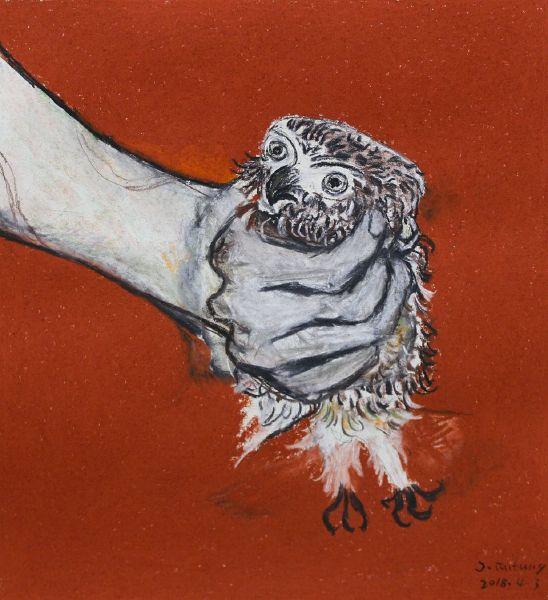 紀福堂-手中的貓頭鷹 The owl in my hand