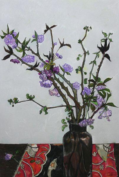 紀福堂-花枝 Vase and flowers