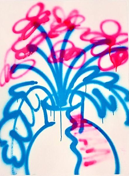 天野健-Pink flower
