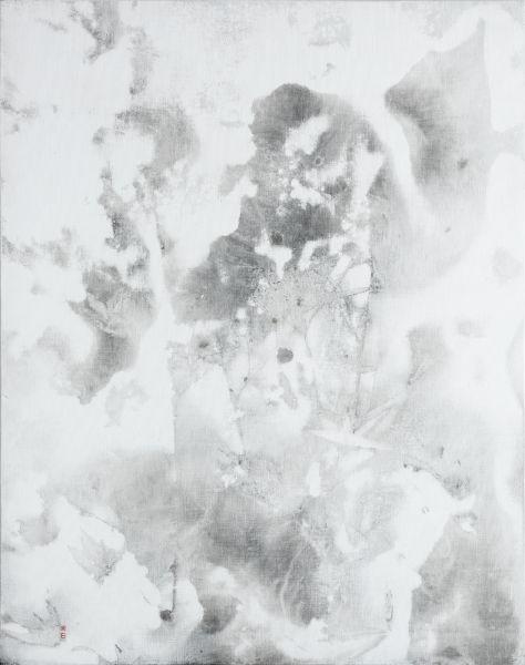 陳正隆-竹石圖 1905