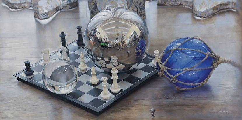 余昇叡-發光研究(十六)圓球折射與反射之關係