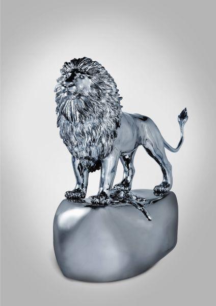 陳金慶-【千塵鎖】系列 —— 獅子