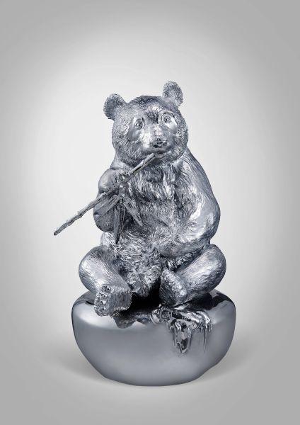 陳金慶-【千塵鎖】系列 —— 熊貓