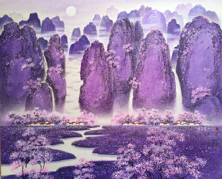 廖美蘭-紫氣東來春無限 Wonderland