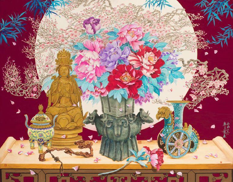 廖美蘭-滿堂富貴Full of Wealth