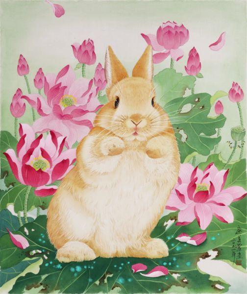 廖美蘭-動感兔 Dynamic Rabbit