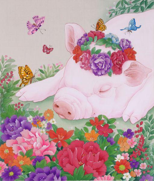 廖美蘭-花香盈夢 A Dream Full of The Fragrance of The Flowers