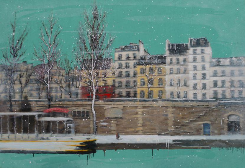 林煊哲-漫步塞納河岸Strolling along in the banks of the Seine
