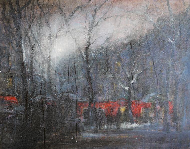 林煊哲-冬天的市集 The market in Winter