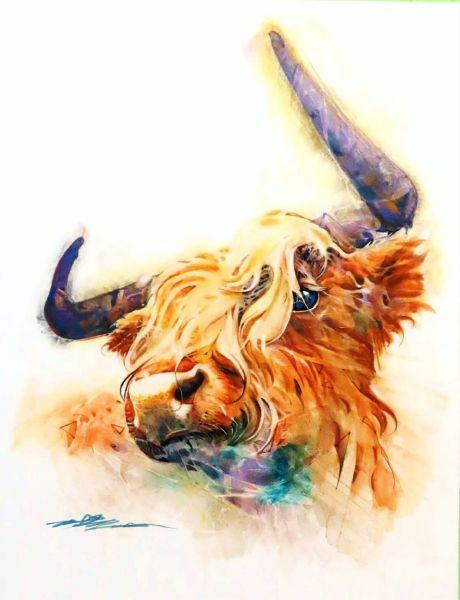 劉漢文-牛運當頭Good fortune in the year of the ox