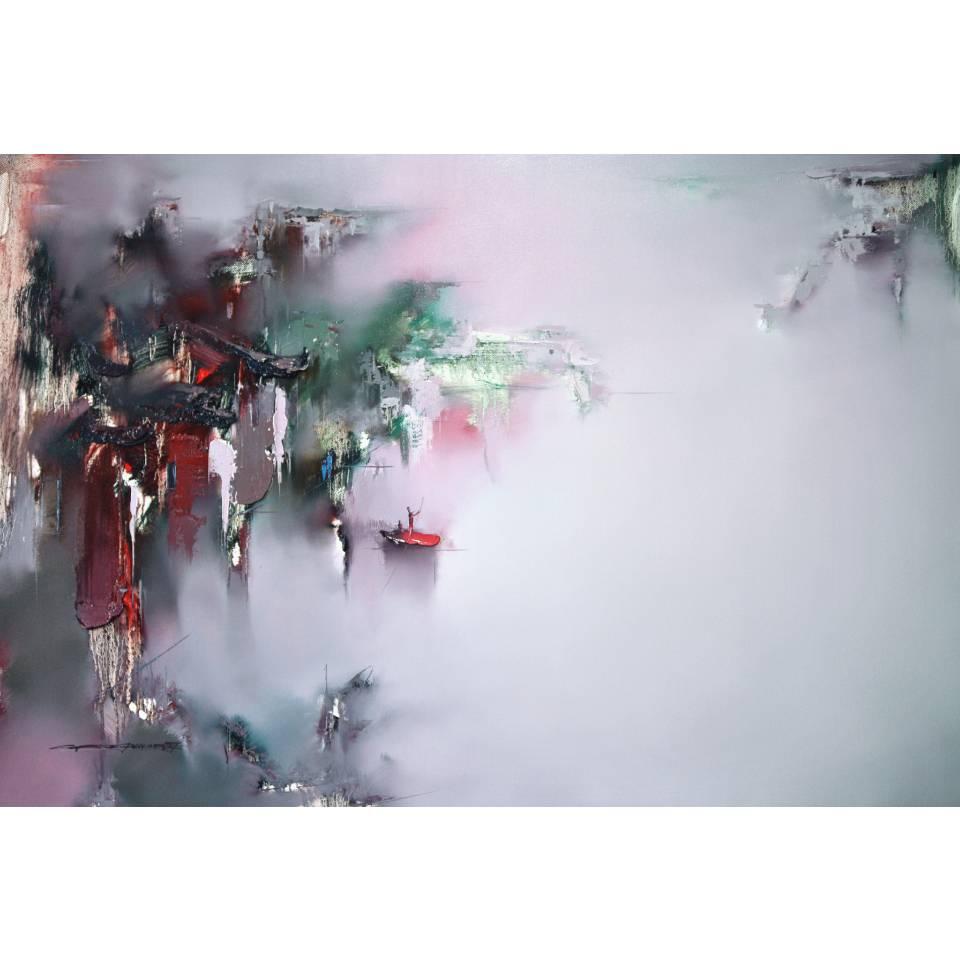 《故里飛花》布面油彩_160X110cm_2019
