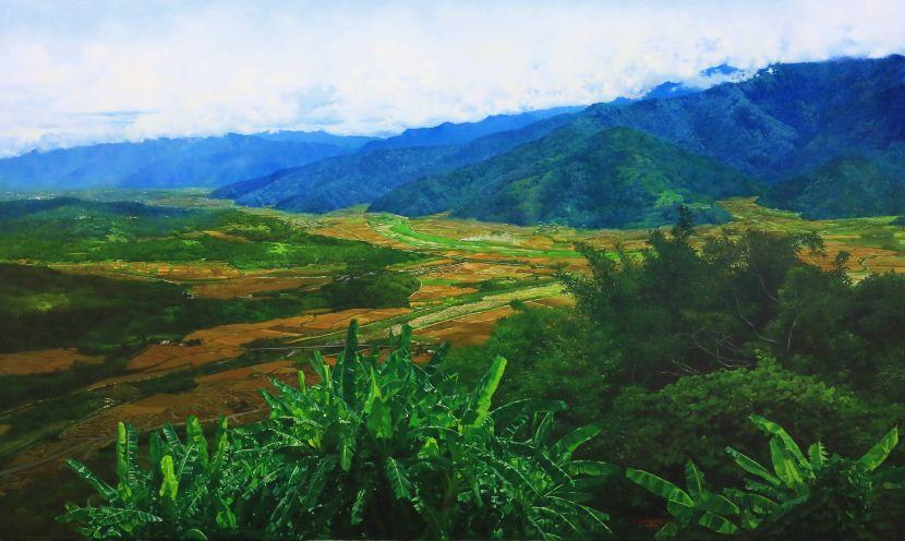 林嶺森-縱谷風光 the East Rift Valley of Hualien