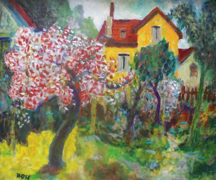 侯錦郎-春,風景 Spring, Landscape