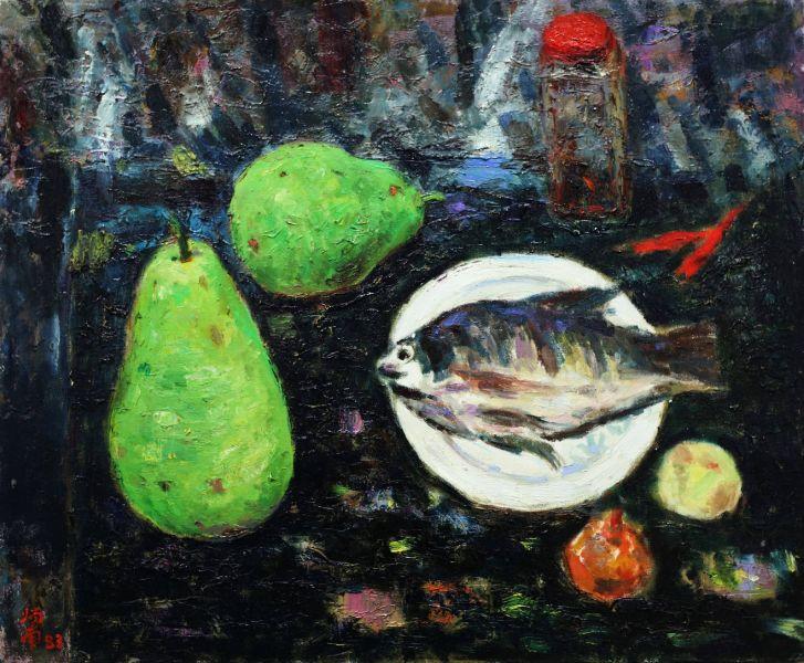 張炳南-有魚的靜物