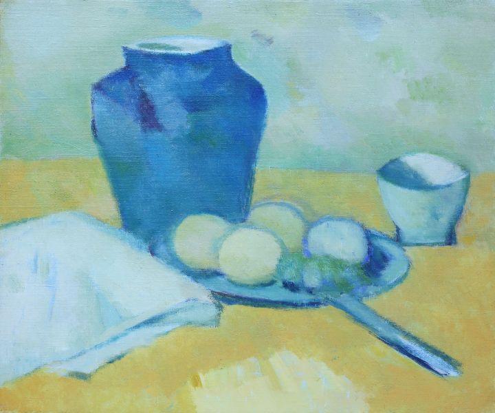陳德旺-罐子與靜物