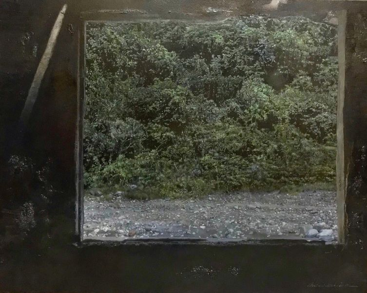 蔡維傑 -觀景窗-方框 Square Window