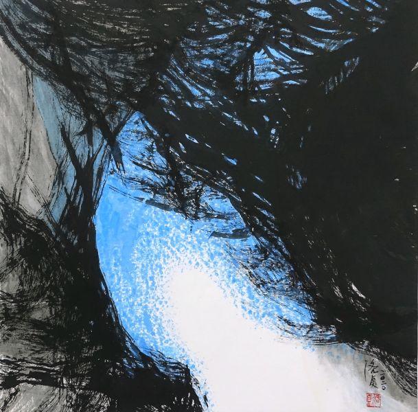 洛貞-若鏡 No.3 Like a mirror No.3