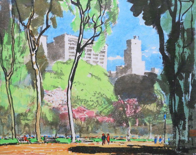 馬白水-中央公園 Central Park