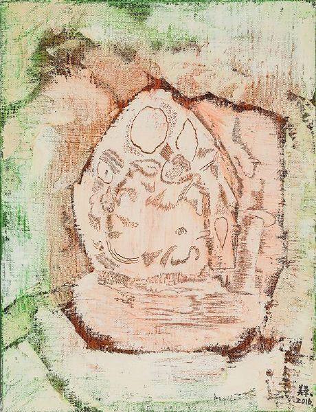 賴美華-岩畫1