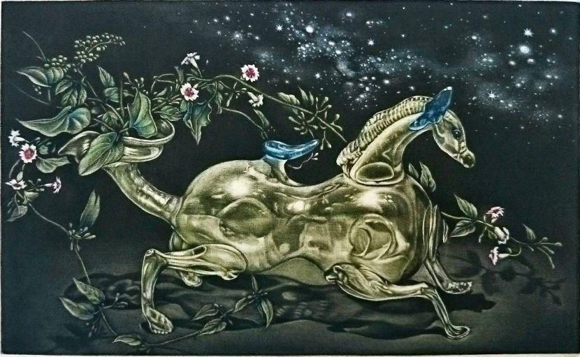 生田宏司-玻璃之馬