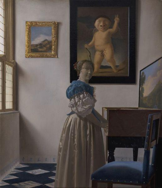 盧昉-大鼻子18禁之畫中畫 Mr. Big Nose Portrays Nude in a Painting within a Painting