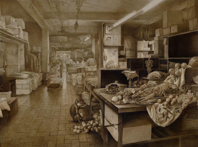 盧昉-消失中的市場 Vanishing Marketplace