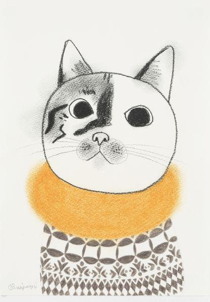 宮城勝規-黃圍巾的貓 2015.04.13