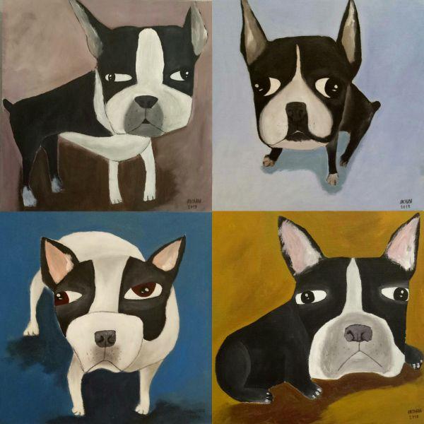 安恰娜‧恰麗亞琶朋-法鬥系列French Bulldog Series