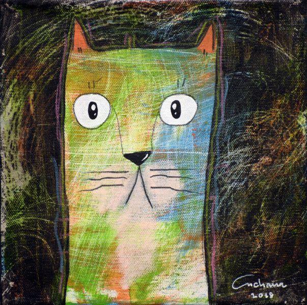 安恰娜‧恰麗亞琶朋-(NEW)黑色系列:寵愛貓咪 #11