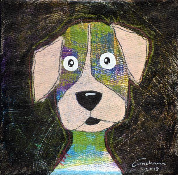安恰娜‧恰麗亞琶朋-黑色系列:寵愛狗狗 #16