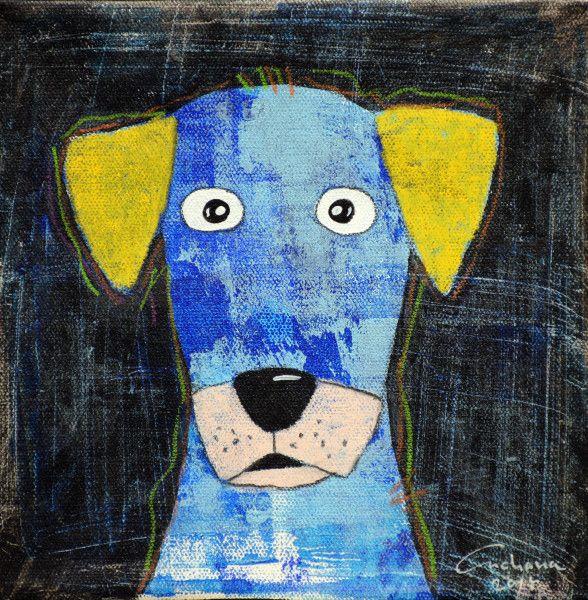 安恰娜‧恰麗亞琶朋-(NEW)黑色系列:寵愛狗狗 #17
