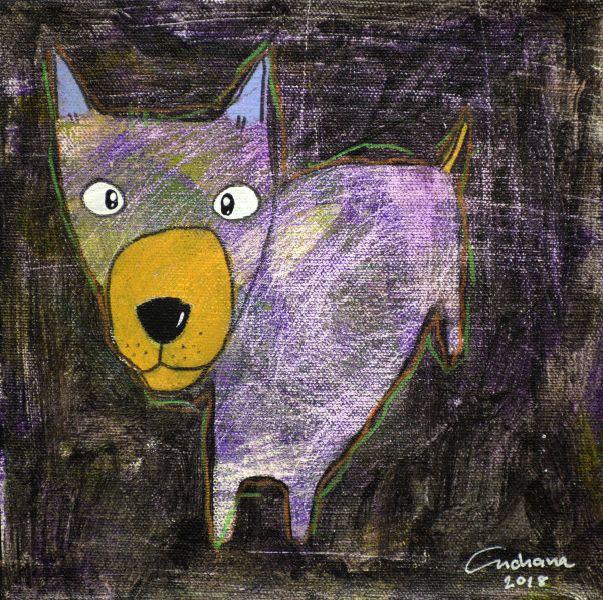 安恰娜‧恰麗亞琶朋-(NEW)黑色系列:寵愛狗狗 #10