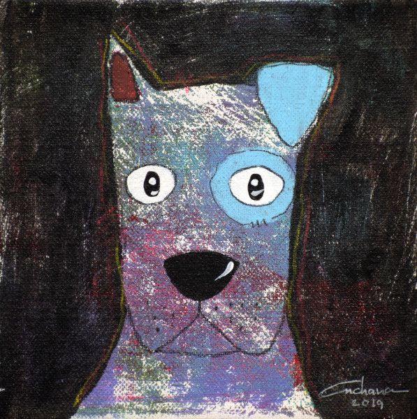 安恰娜‧恰麗亞琶朋-(NEW)黑色系列:寵愛狗狗 #11