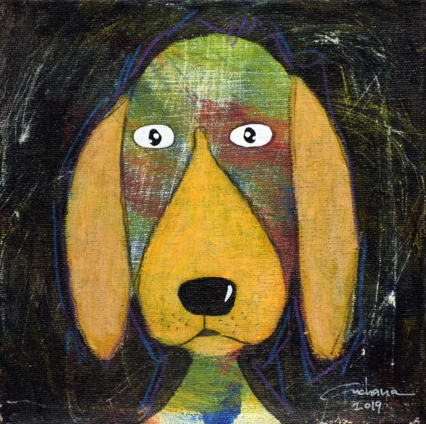 安恰娜‧恰麗亞琶朋-(NEW)黑色系列:寵愛狗狗 #12