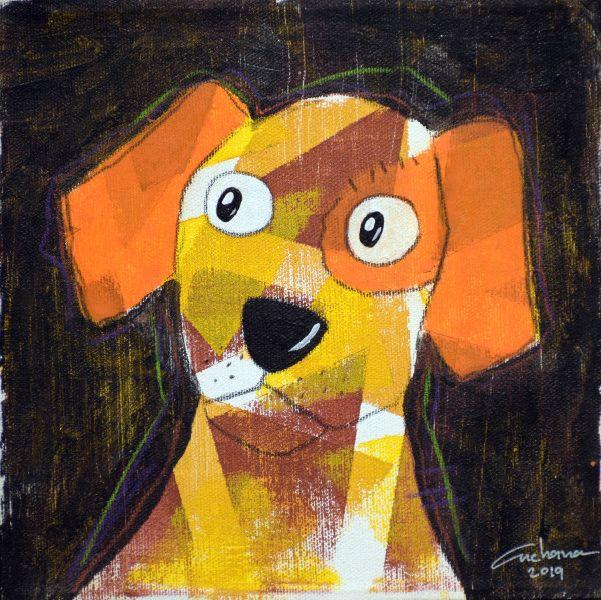 安恰娜‧恰麗亞琶朋-(NEW)黑色系列:寵愛狗狗 #14