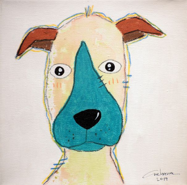 安恰娜‧恰麗亞琶朋-(NEW)白色系列:寵愛狗狗 #20