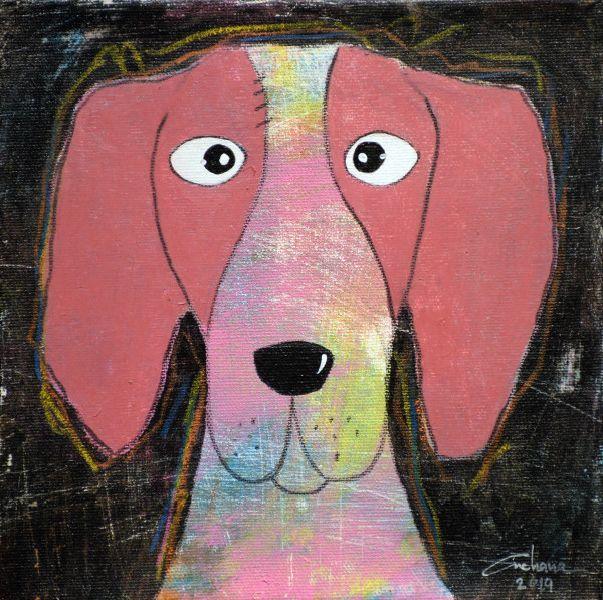 安恰娜‧恰麗亞琶朋-(NEW)黑色系列:寵愛狗狗 #8