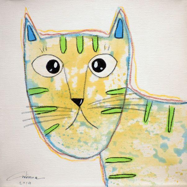 安恰娜‧恰麗亞琶朋-(NEW)白色系列:寵愛貓咪 #16