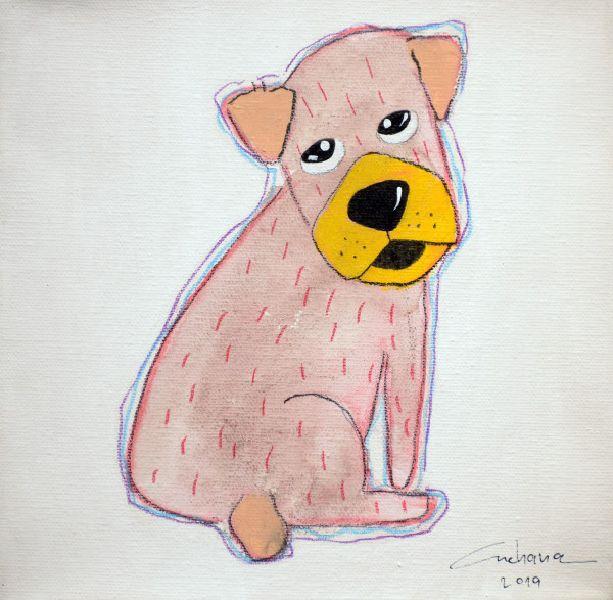 安恰娜‧恰麗亞琶朋-(NEW)白色系列:寵愛狗狗 #22