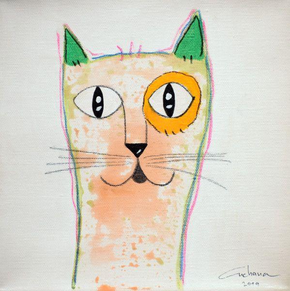 安恰娜‧恰麗亞琶朋-(NEW)白色系列:寵愛貓咪 #17