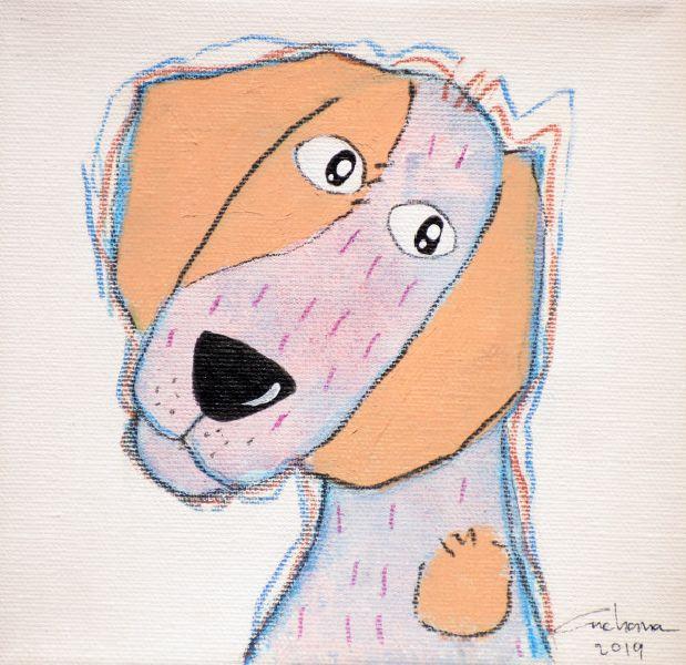 安恰娜‧恰麗亞琶朋-(NEW)白色系列:寵愛狗狗 #10S